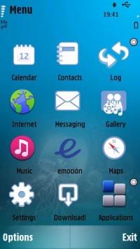 Темы для Nokia 5800