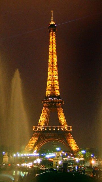 Картинка с видом на эйфелеву башню